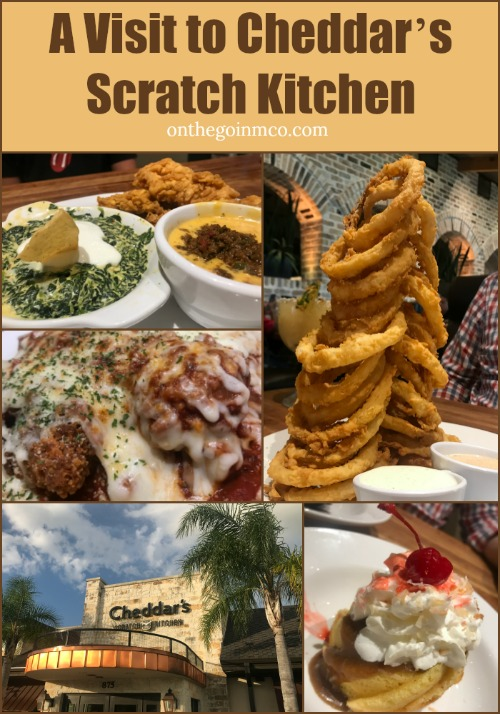 A Visit To Cheddar S Scratch Kitchen On The Go In Mco
