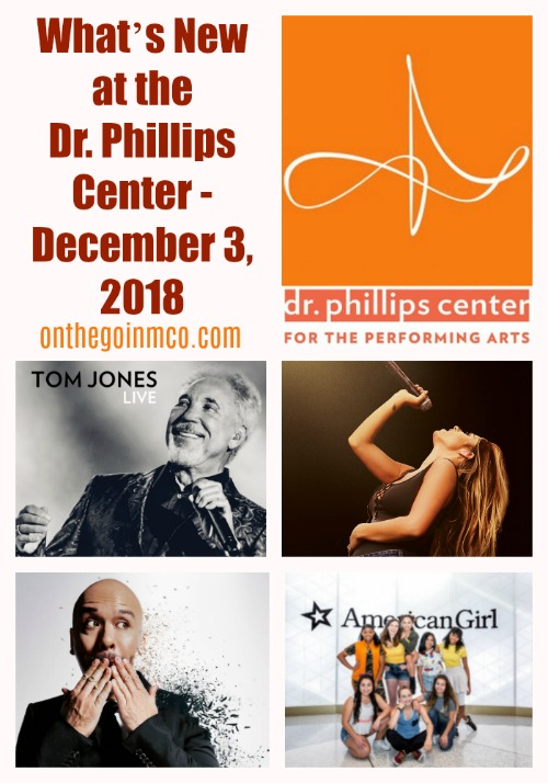 Dr. Phillips Center New 12 3 18