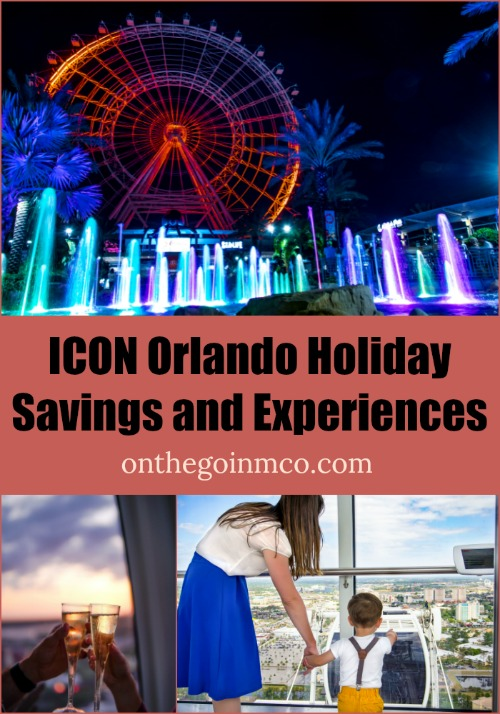 ICON Orlando Holiday Savings and Experiences 2018
