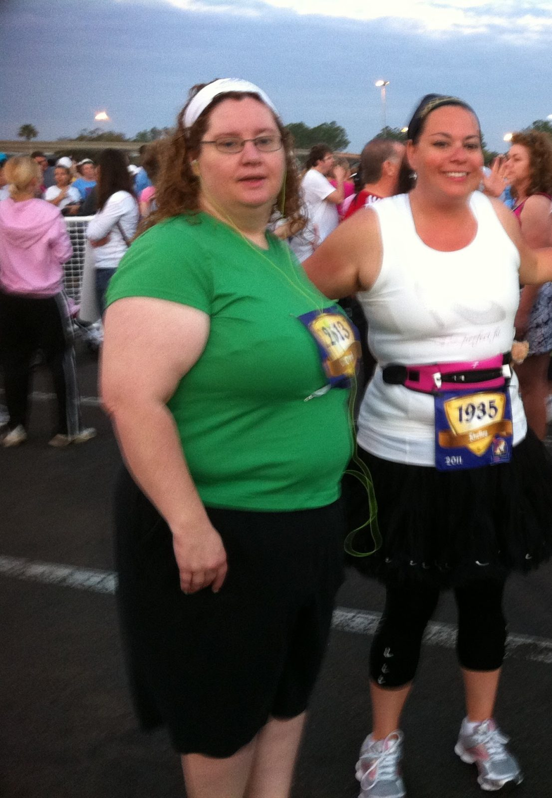 runDisney Conversations with Cheryl 5K with Shelley