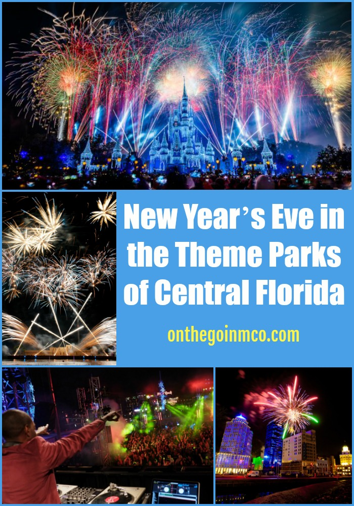 New Year's Eve in the Theme Parks of Central Florida 2018