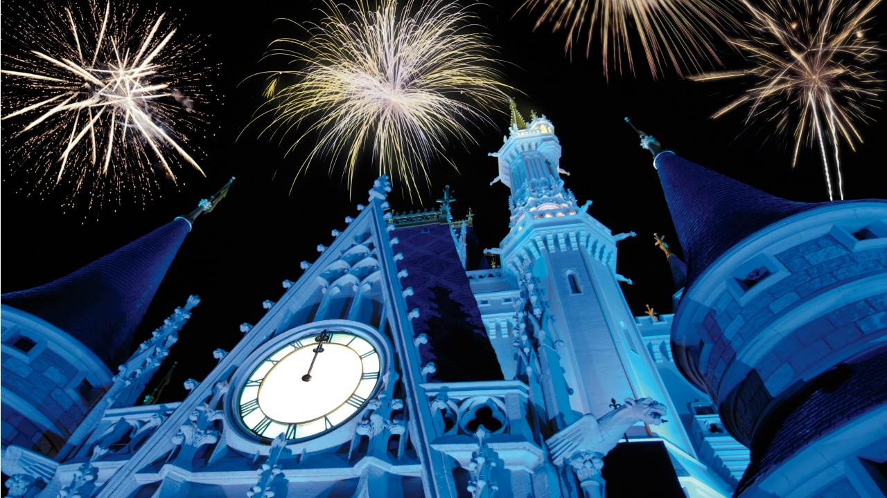 New Year's Eve Theme Parks