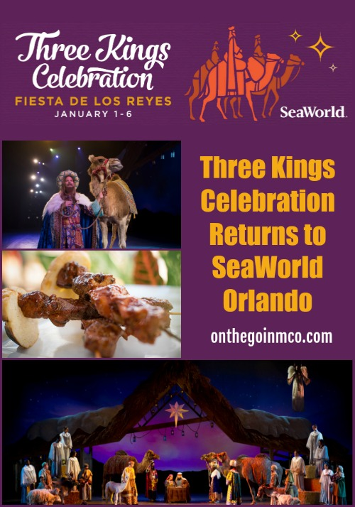 Three Kings Celebration SeaWorld Orlando 2019