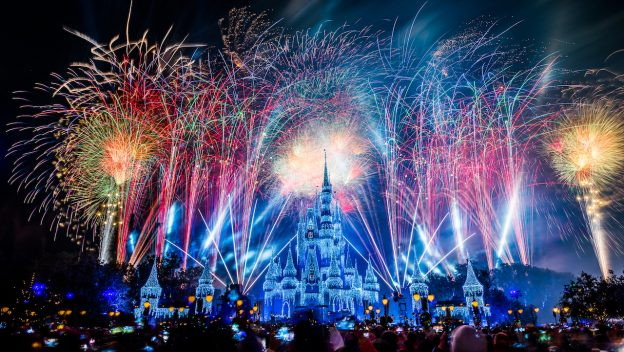 New Year's Eve live stream magic kingdom 2018