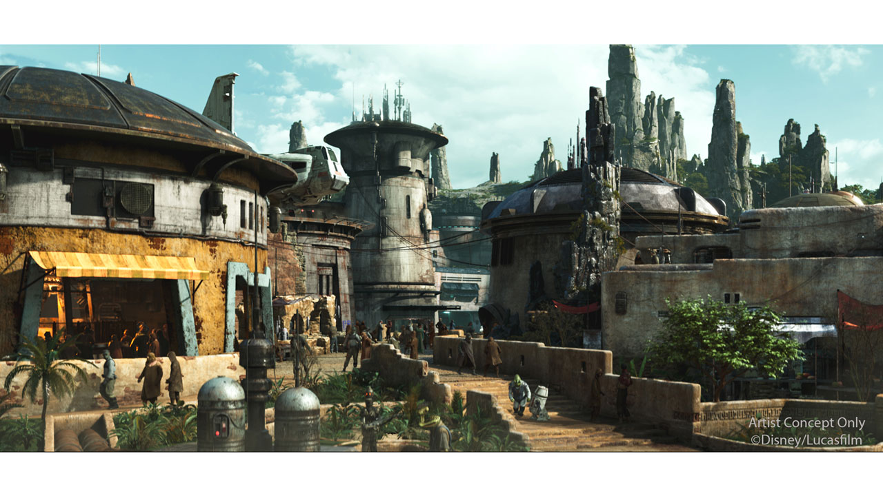 2019 Black Spire Outpost Star Wars Galaxy's Edge Walt Disney World