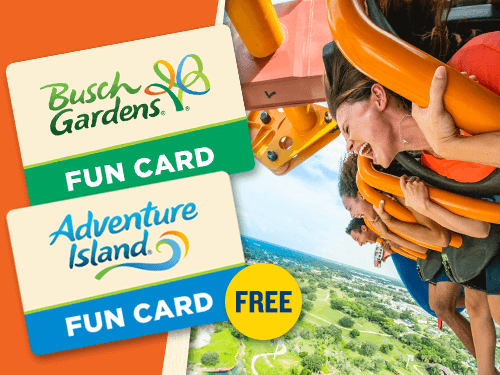 January 2019 theme park ticket offers on the go in mco - Busch gardens and adventure island ...
