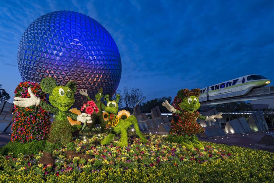 2019 Epcot International Flower and Garden Festival Walt Disney World