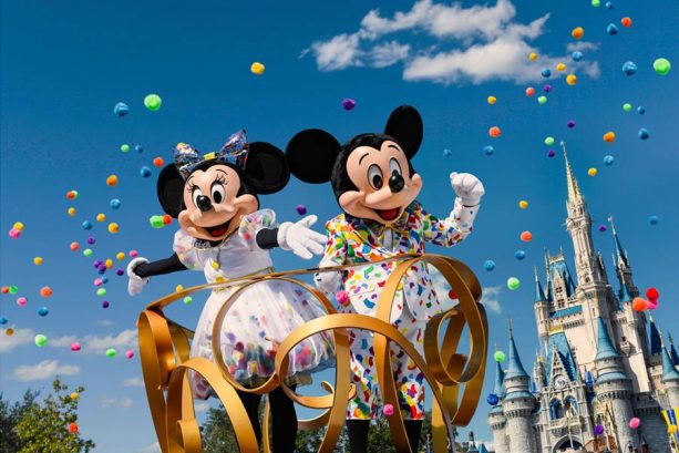 2019 Mickey & Minnie's Surprise Celebration Walt Disney World
