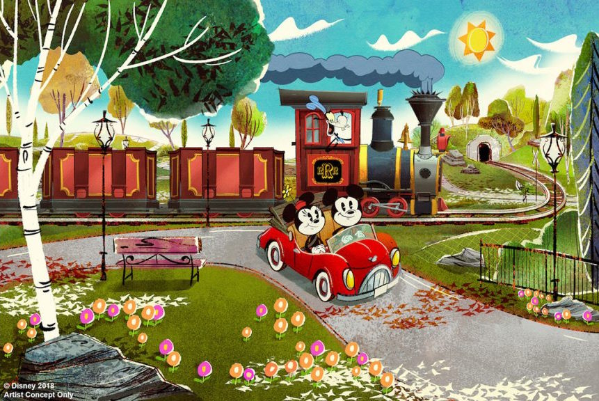 2019 Mickey and Minnie's Runaway Railway Walt Disney World