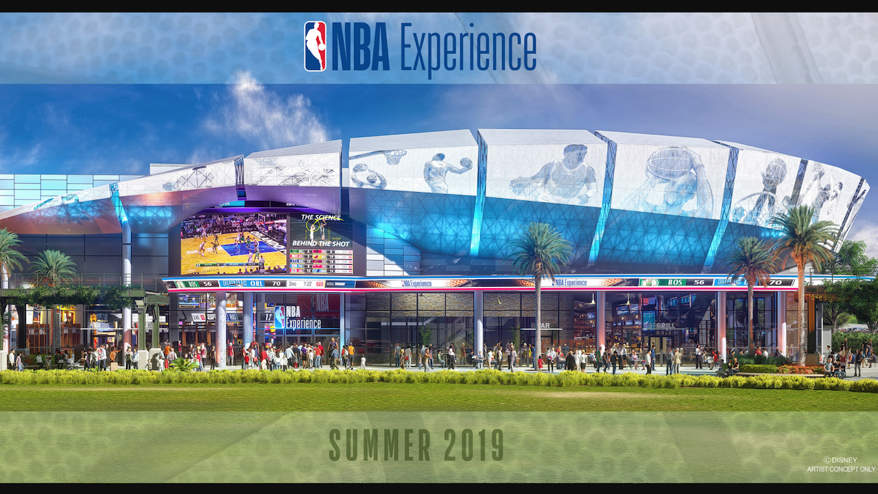 2019 NBA Experience Disney Springs Walt Disney World