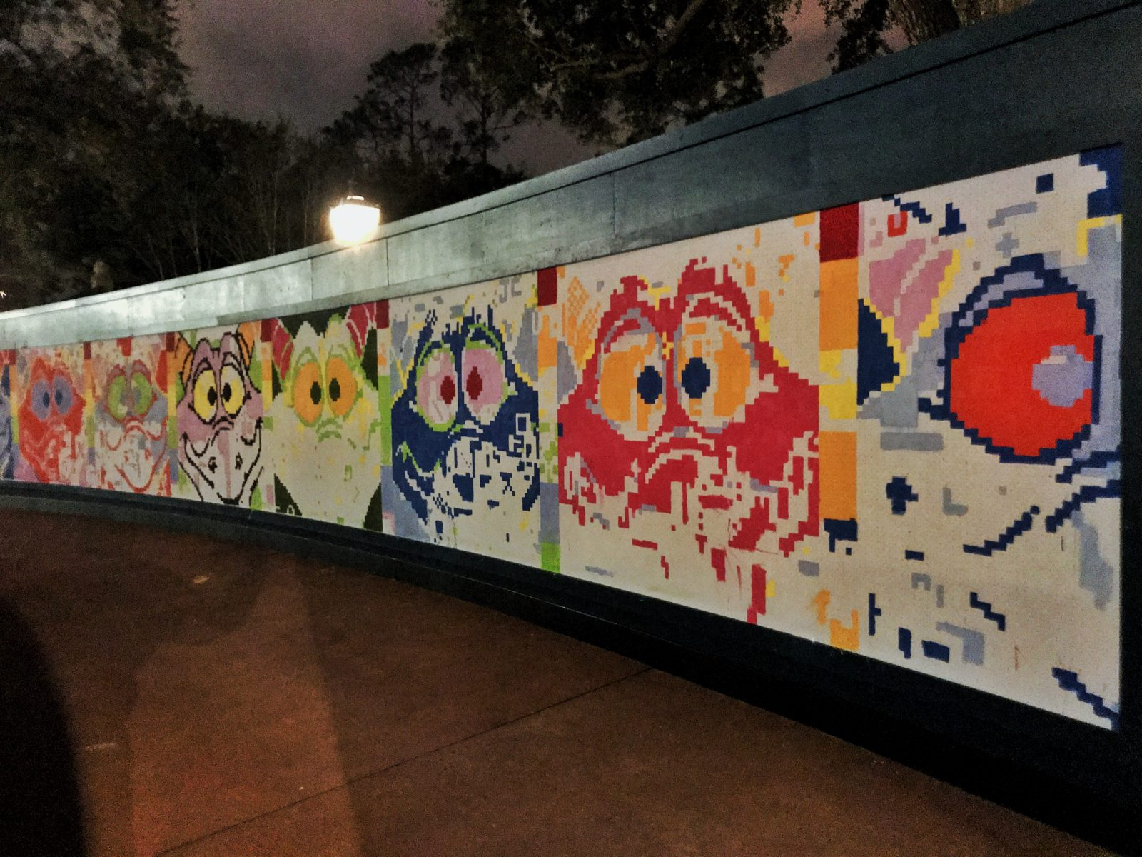 Epcot International Festival of the Arts 2019 - Mural