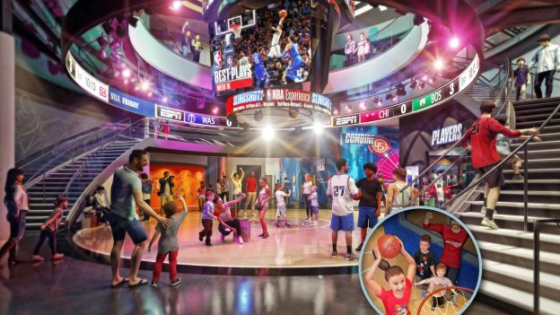 NBA Experience Disney Springs West Side Walt Disney World