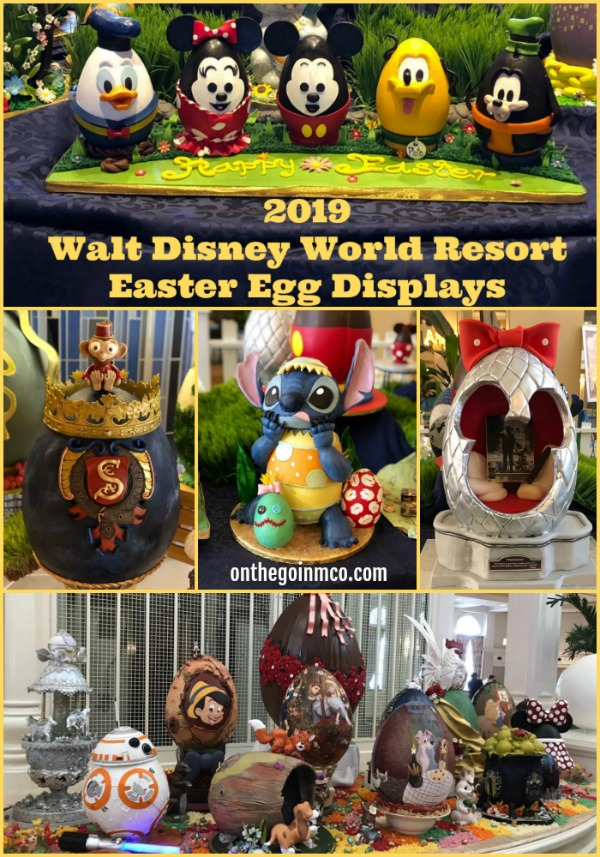 2019 Walt Disney World Resort Easter Egg Displays YouTube
