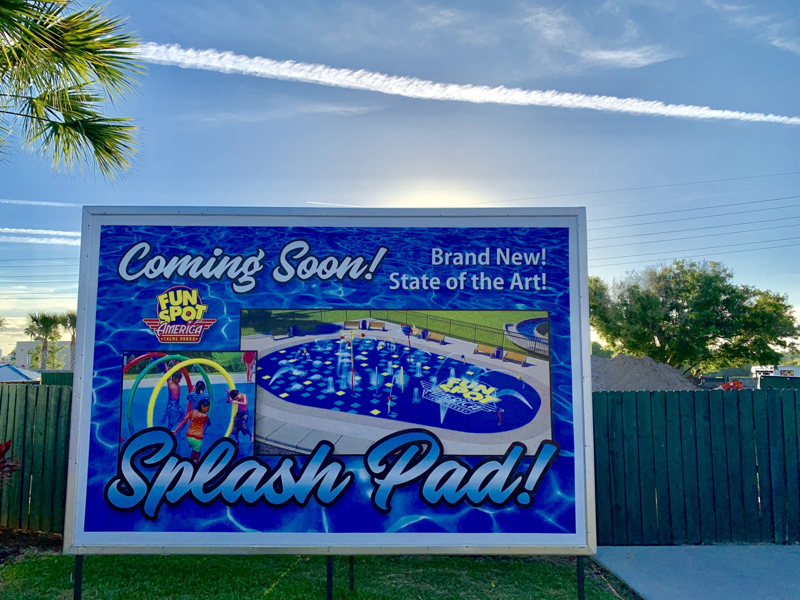 Fun Spot Orlando Splash Pad