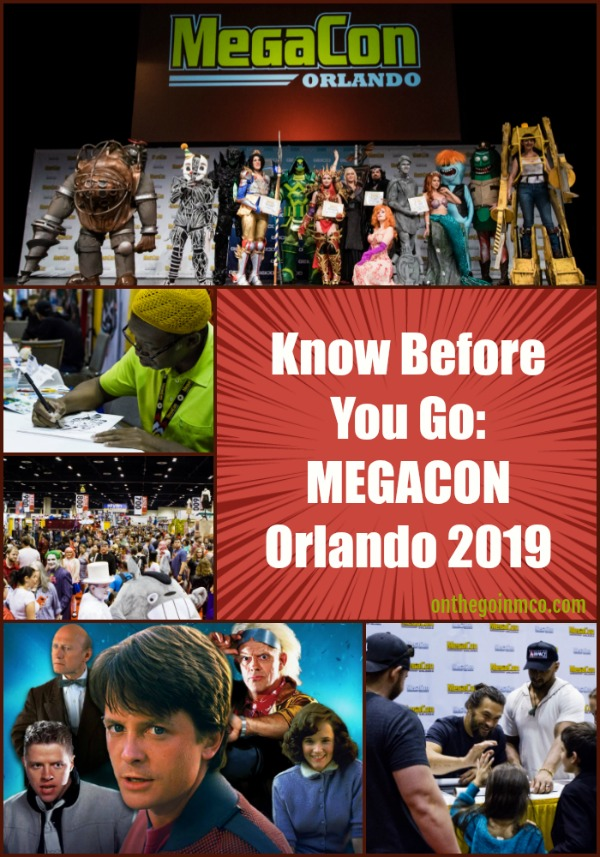 Know Before You Go: MEGACON Orlando 2019