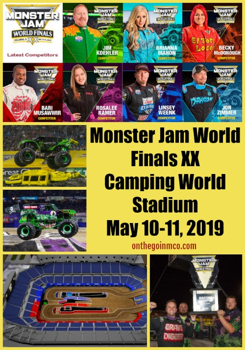 Monster Jam World Finals Orlando 2019