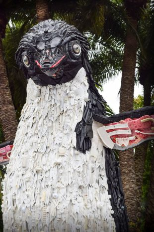 Party for the Planet 2019 Disneys Animal Kingdom Debris Sculpture