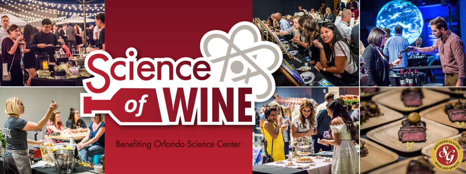 Science of Wine Orlando Science Center 2019