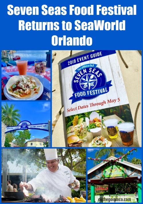 Seven Seas Food Festival Returns to SeaWorld Orlando