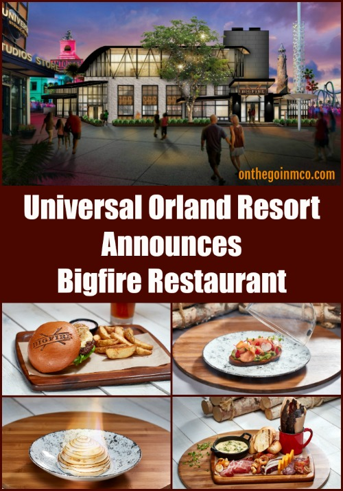 Universal Orlando CityWalk Bigfire Restaurant Announcement 2019