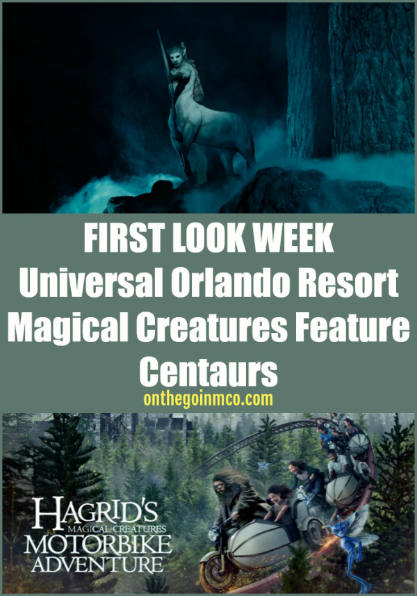 Universal Orlando Resort Hagrid's Magical Creatures Motorbike Adventure Centaurs Thursday