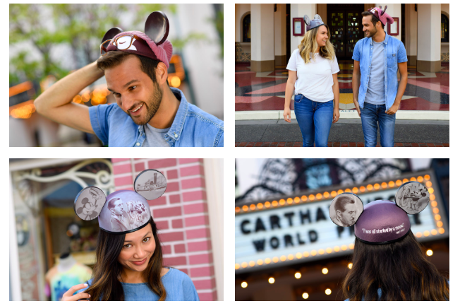 Disney Parks Designer Mouse Ears Collage 1