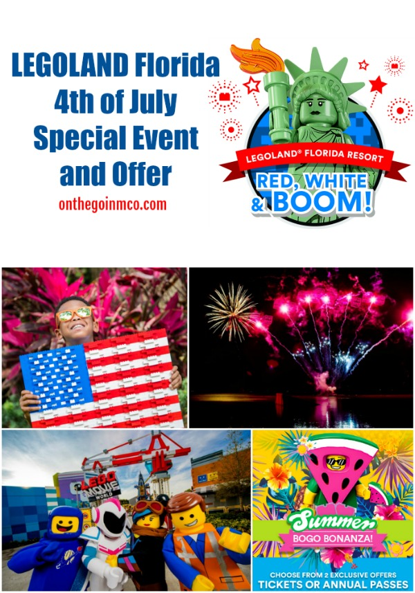 LEGOLAND Florida fourth of July 2019