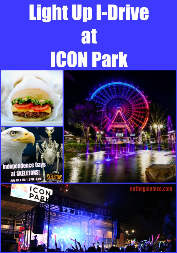 Light Up I-Drive ICON Park Fourth of July 2019