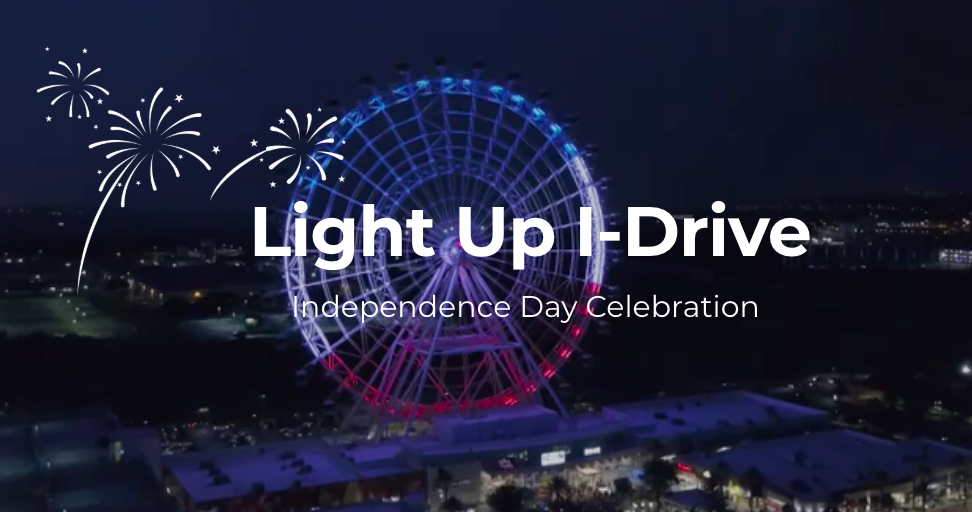 ICON Park Light Up I-Drive