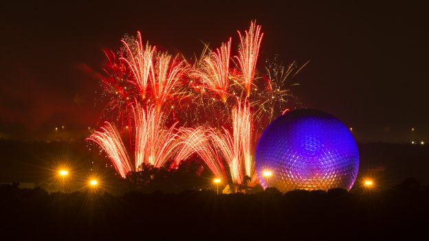 Fourth of July Fireworks Walt Disney World