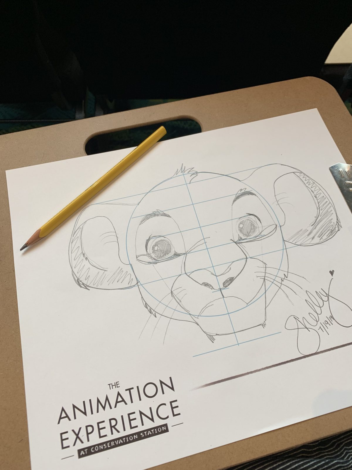 The Lion King Disney's Animal Kingdom Animation Experience at Conservation Center