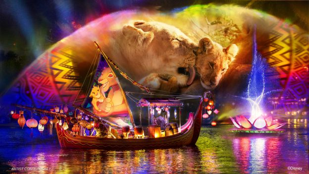 The Lion King Disney's Animal Kingdom Rivers of Light We Are One