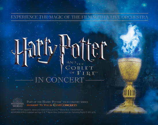 Dr. Phillips Center Harry Potter and the Goblet of Fire in Concert 2019