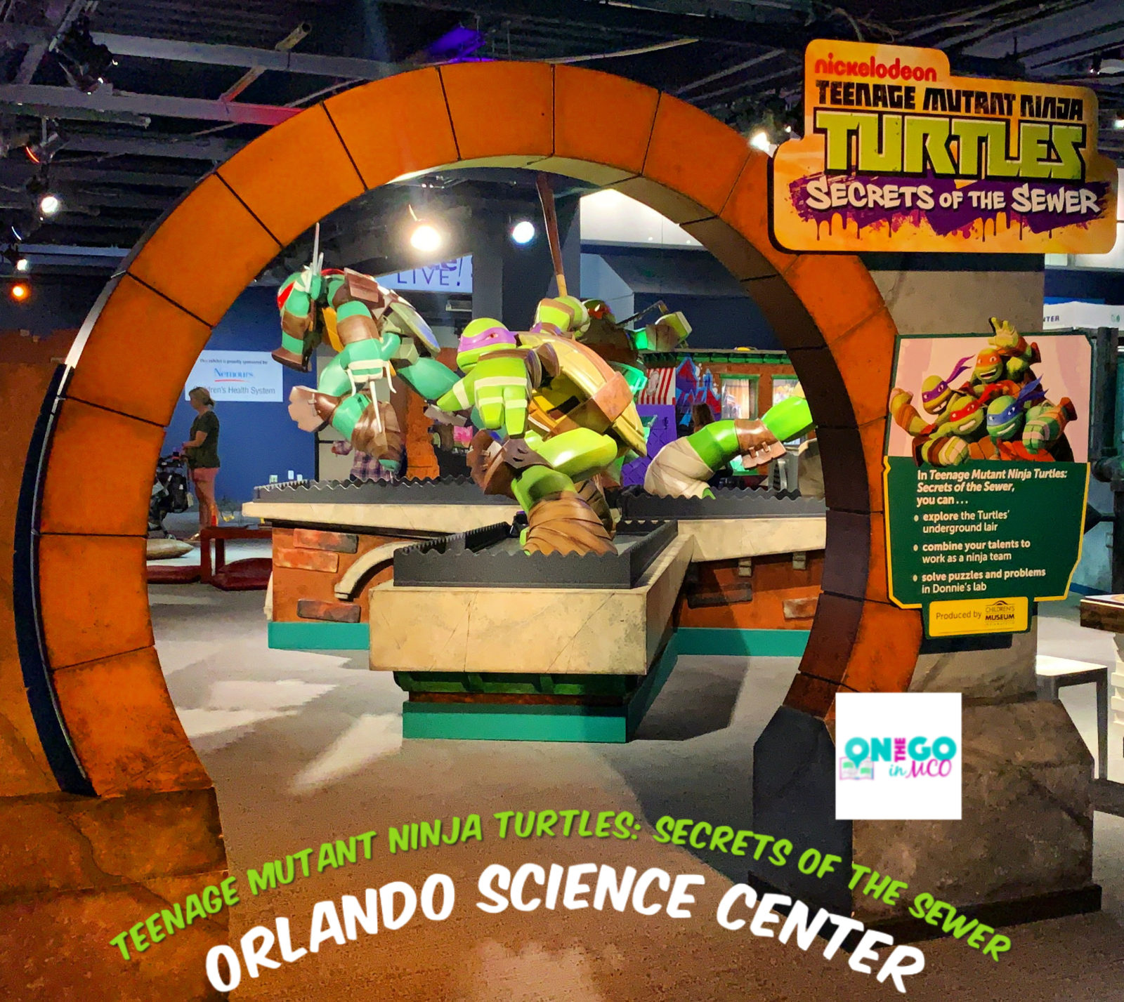Teenage Mutant Ninja Turtles Orlando Science Center Summer 2019