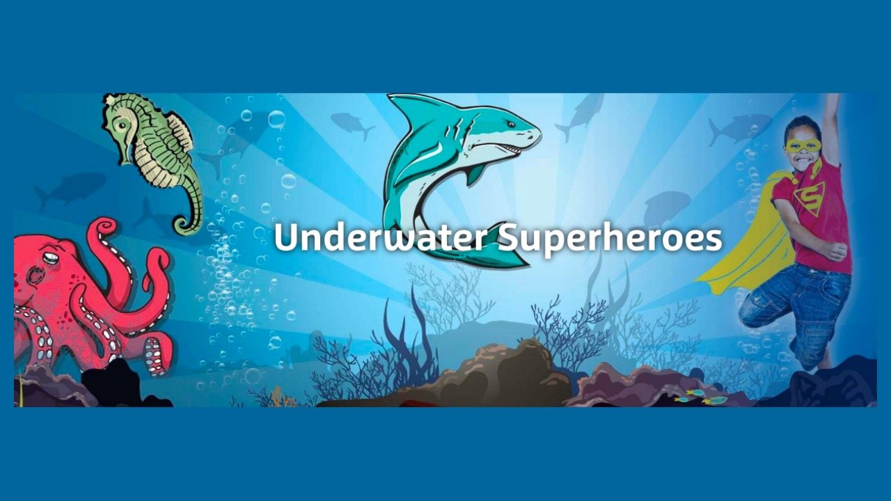 SEA LIFE Orlando Underwater Superheroes Summer 2019