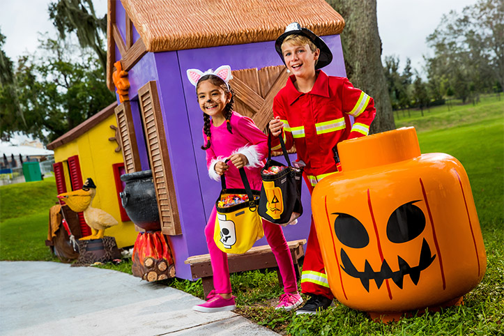 LEGOLAND Florida Resort Brick or Treat Halloween