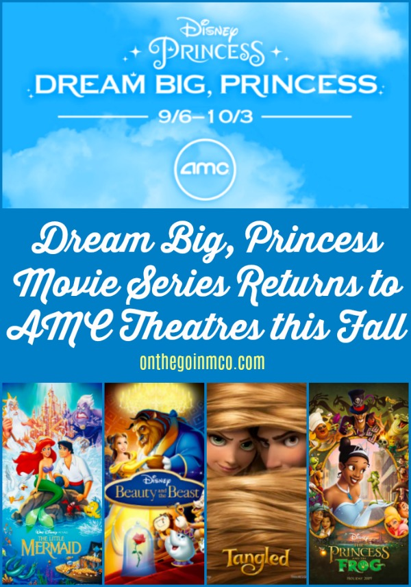 Dream Big, Princess Movie Series Fall 2019