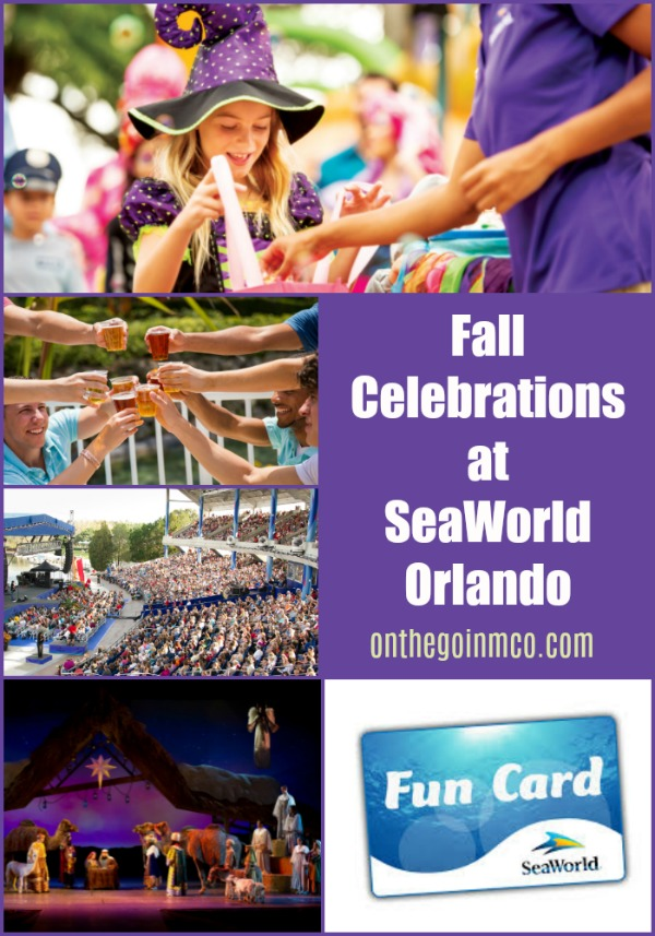 Fall Celebrations at SeaWorld Orlando 2019