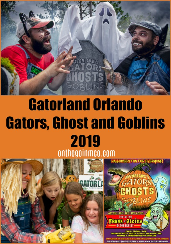 Gators, Ghost and Goblins Gatorland Orlando 2019