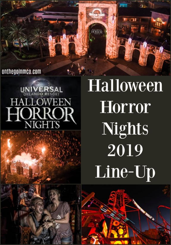 Halloween Horror Nights Universal Studios Florida 2019