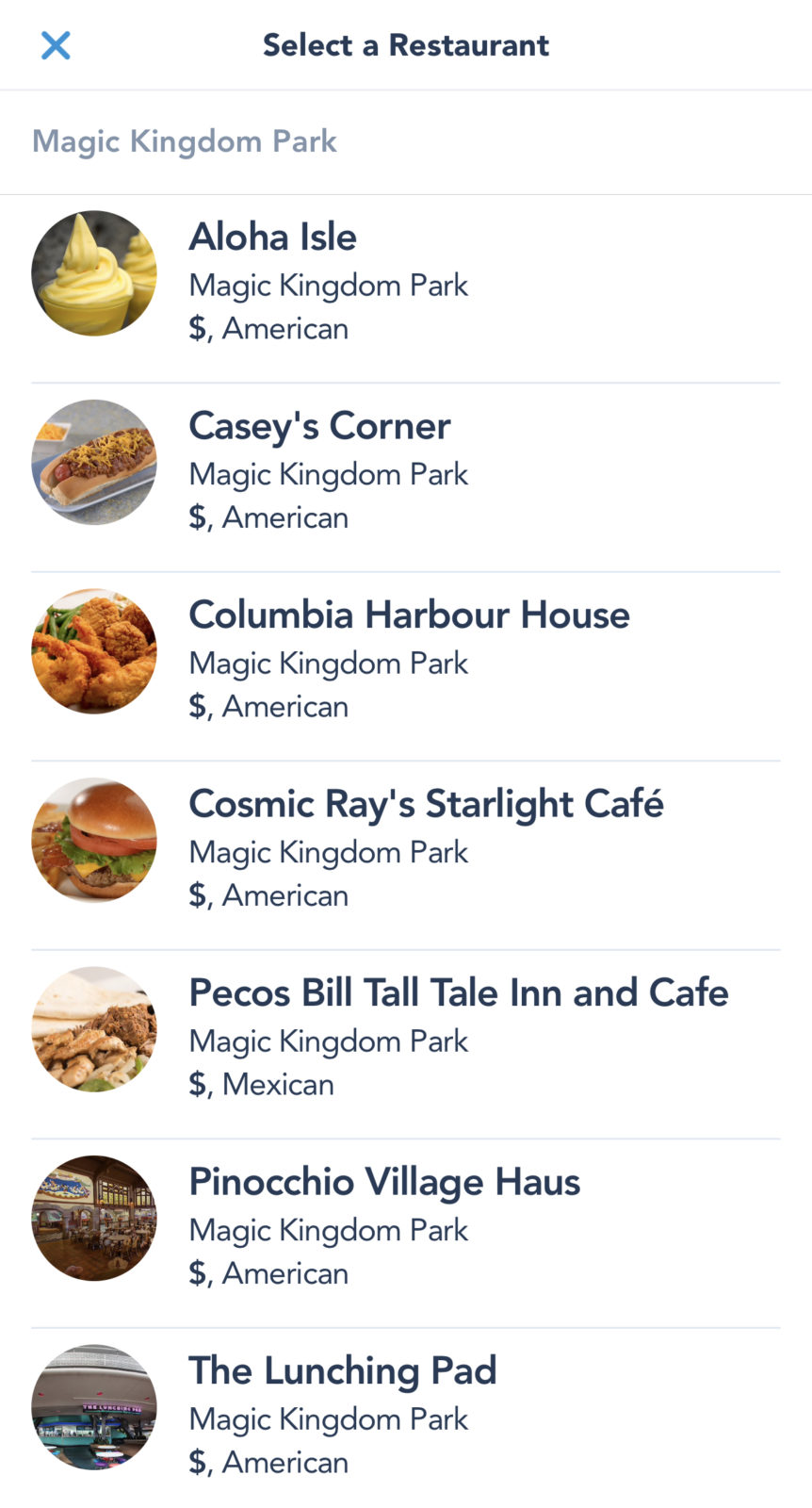 Mobile Ordering Theme Park Tips