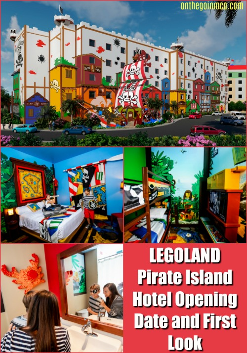 LEGOLAND Pirate Island Hotel Opening Date and First Look