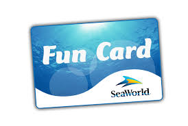 SeaWorld Orlando Fun Card
