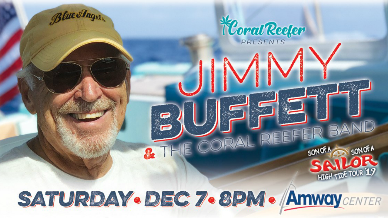 2019 Jimmy Buffett High Tide Tour Amway Center 2019