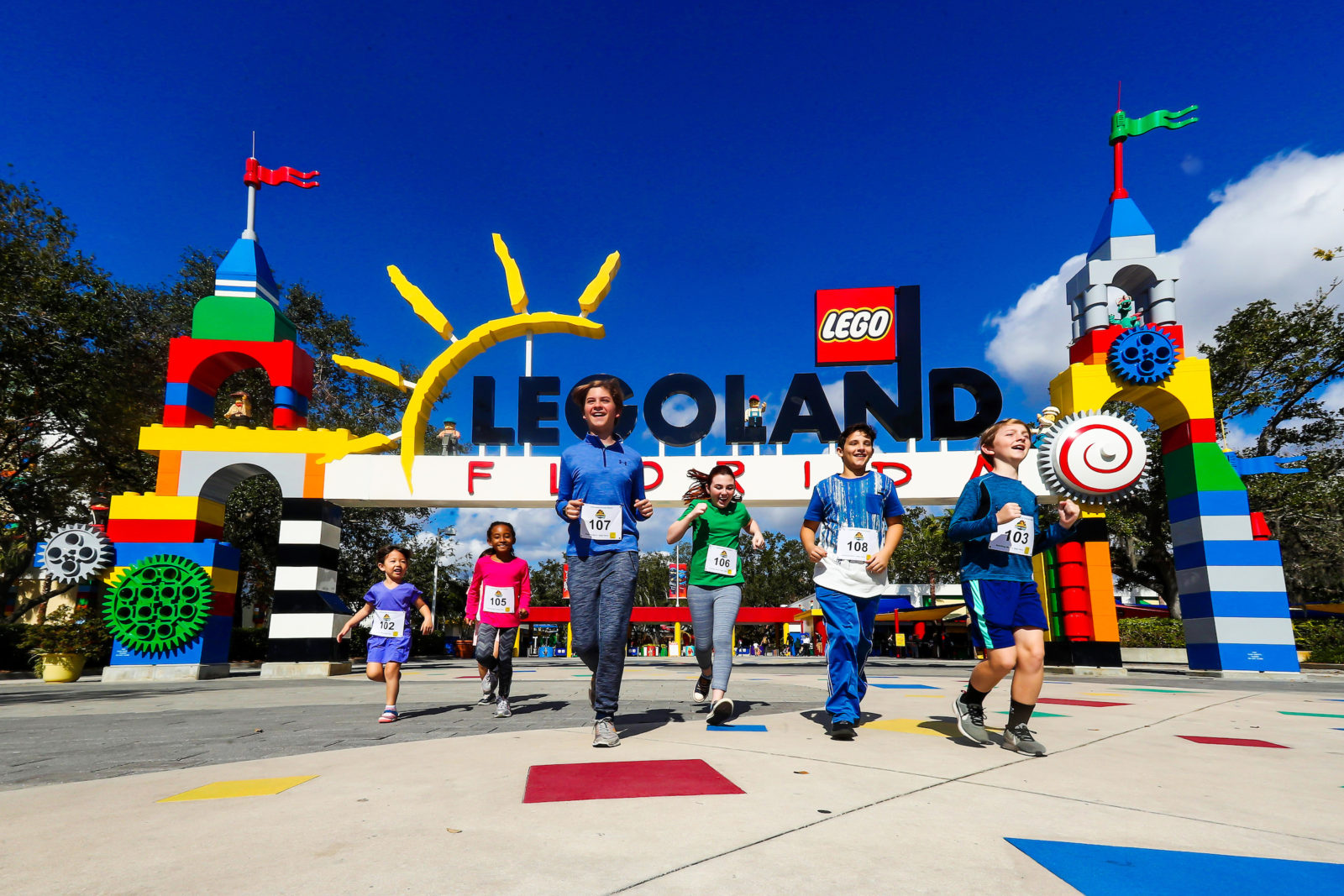 LEGOLAND Florida Resort Brick Dash 5K Brick or Treat
