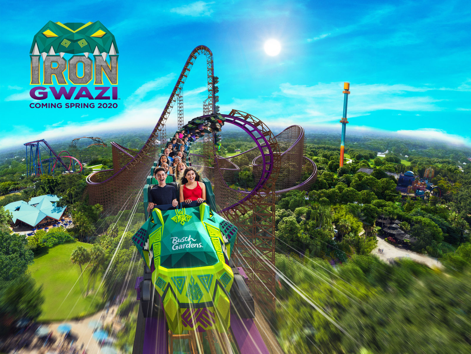 New in 2020 SeaWorld Orlando and Busch Gardens Tampa Bay