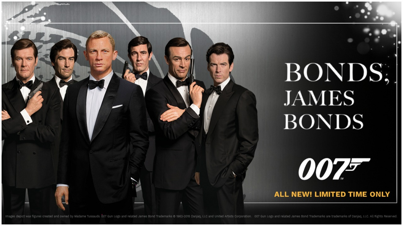 James Bond Madame Tussauds Orlando October 2019