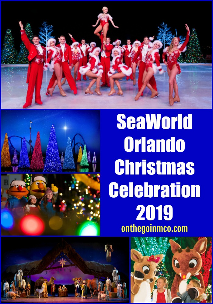 Seaworld Christmas Celebration Orlando Dates 2020 SeaWorld Orlando Christmas Celebration 2019   On the Go in MCO