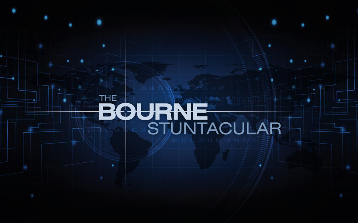 Bourne Stuntacular Universal Studios Florida New in 2020