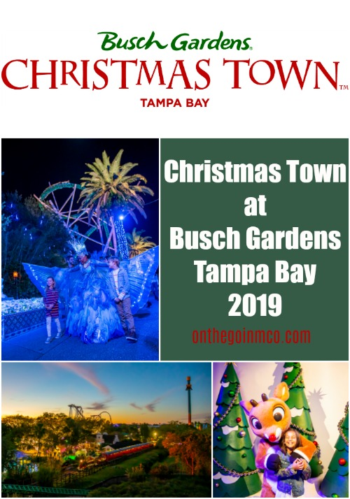 Christmas Town at Busch Gardens Tampa Bay 2019